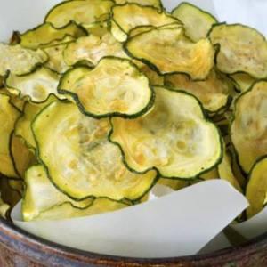 Sea Salt Zuchinni Chips