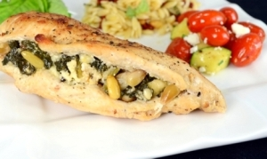 stuffed chicken 1