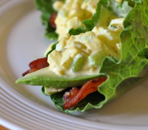 egg salad wrap