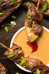 Thai-Beef-Satay-Skewers-with-Peanut-Dipping-Sauce-a-fresh-and-delicious-appetizer-recipe