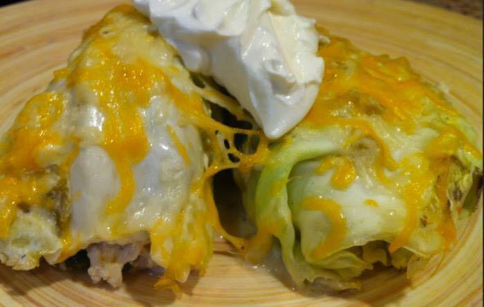 cabbage enchilada