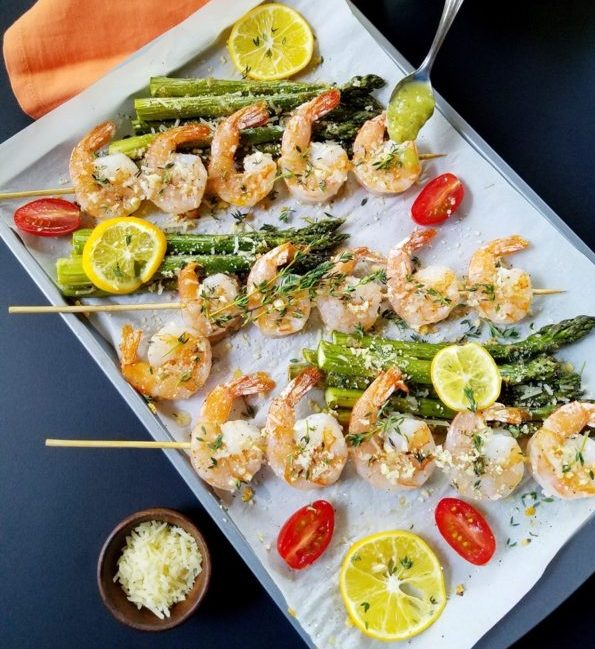 parm shrimp and asparagus 1