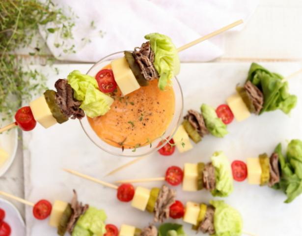 rueben salad kabobs 1